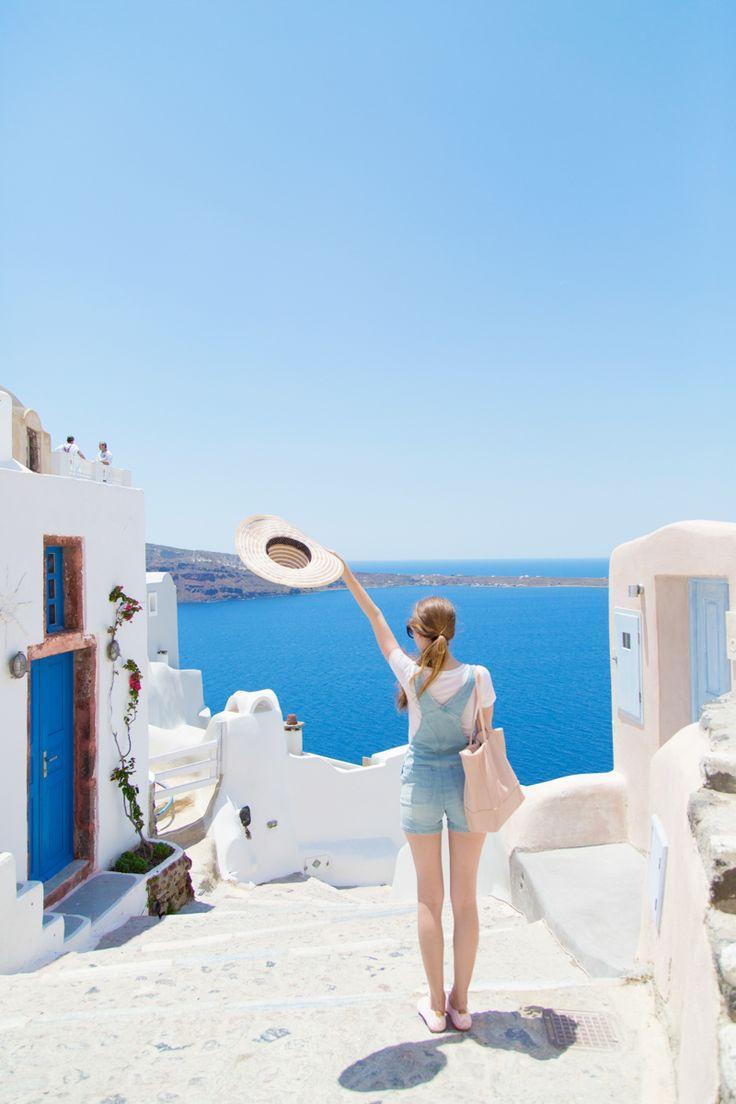 زفاف - : Our Honeymoon In Santorini
