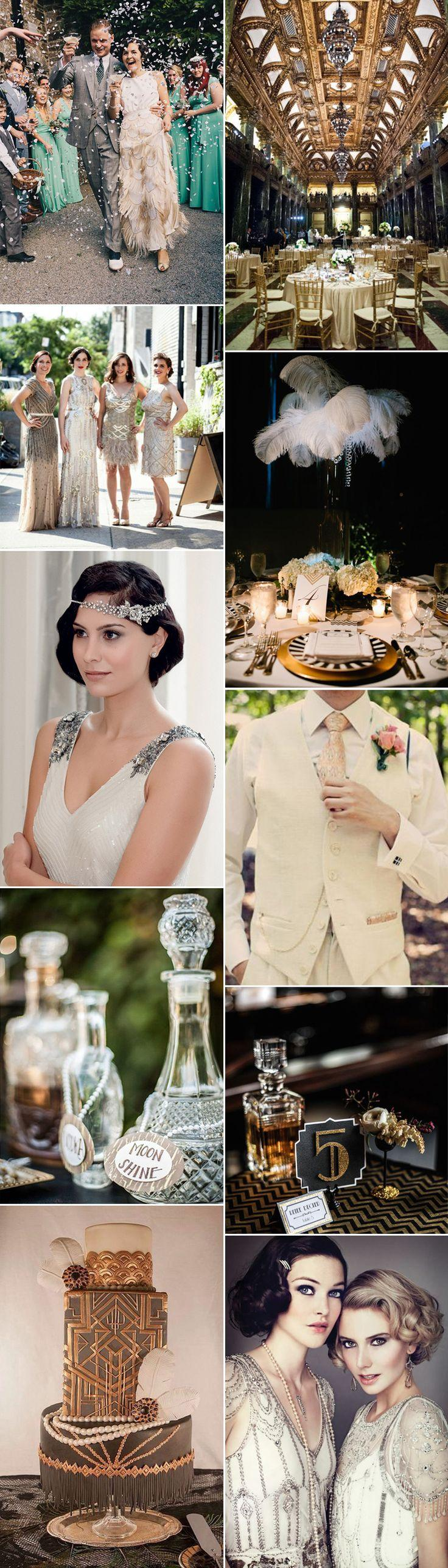 Wedding - Gatsby Glamour: 1920s Wedding Ideas