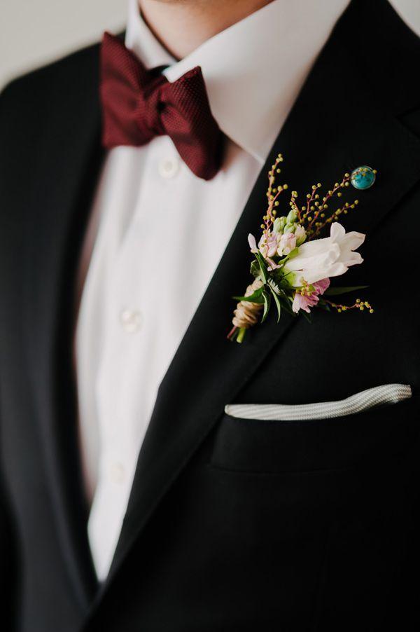 Hochzeit - Modern Romantic Wedding Ideas With Marsala