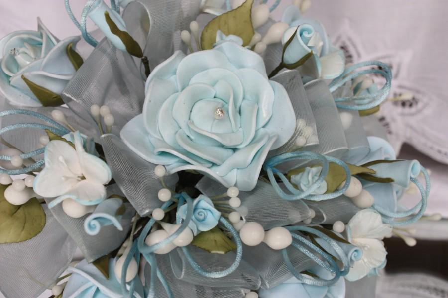 Свадьба - blue wedding bouquet