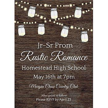 Wedding - Rustic Romance Stationery Card Invitations