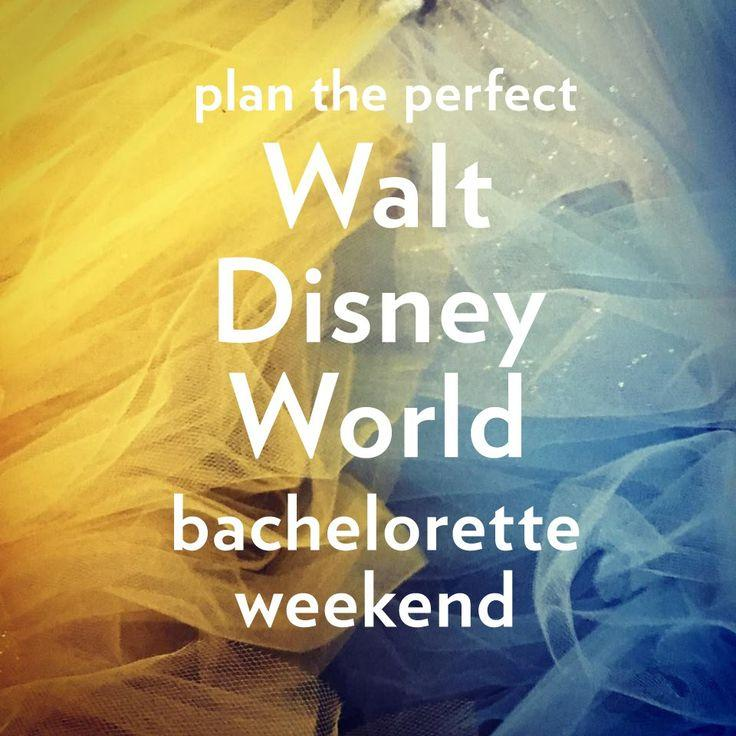 Wedding - A Walt Disney World Bachelorette Weekend