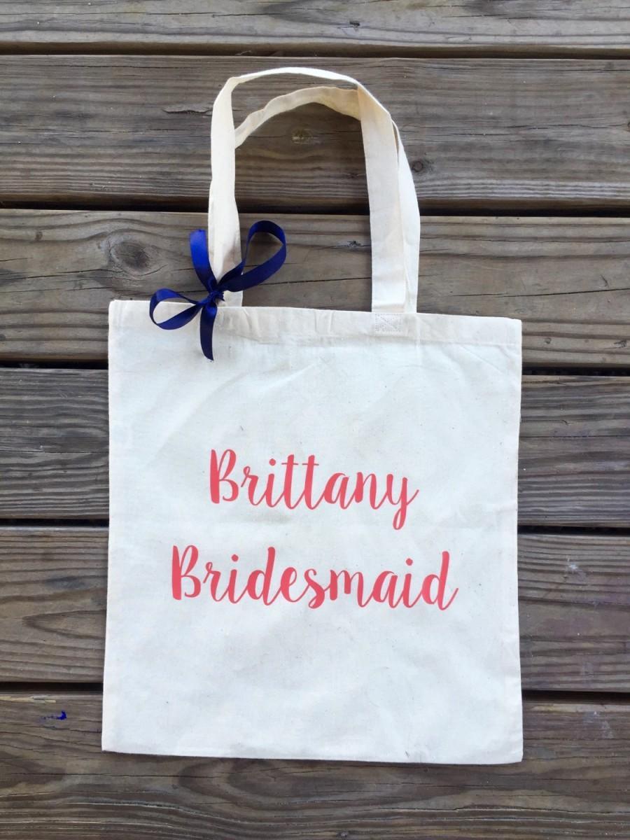 زفاف - FREE SHIPPING - Custom tote bags - Bridal party tote bags - tote bags