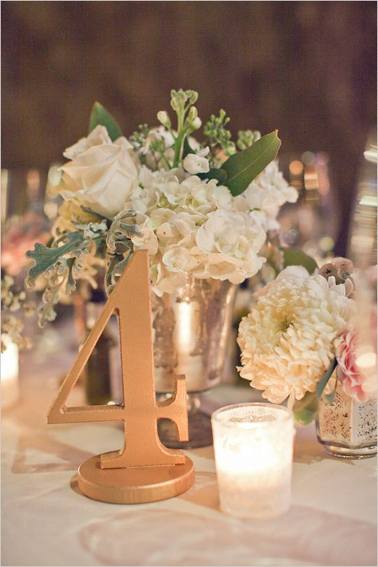 Wedding - Gorgeous Wedding Table Number Ideas