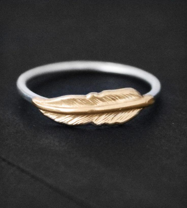 Wedding - Feather Ring