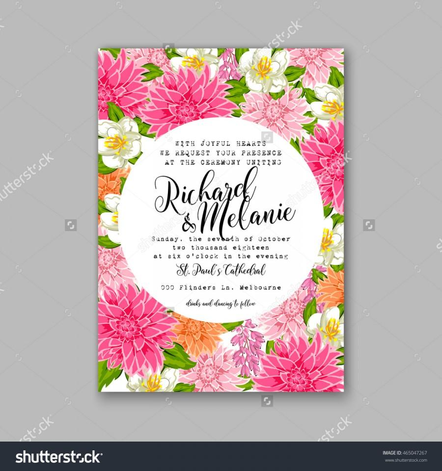 Wedding invitation or card with tropical floral background greeting wedding invitation or card with tropical floral background greeting postcard in grunge retro vector elegance pattern with flower rose illustration vintage stopboris Image collections