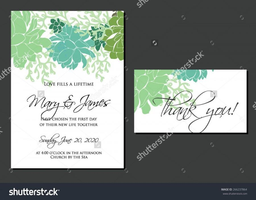 Hochzeit - Wedding graphic set with succulents, wreath and glass terrariums