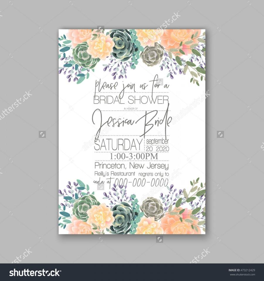 Mariage - Wedding card or invitation with abstract floral background. Greeting postcard in grunge or retro vector Elegance pattern with flowers roses floral illustration vintage style Valentine anniversary