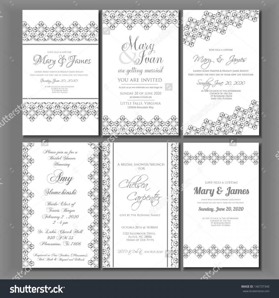 Boda - Wedding invitation card