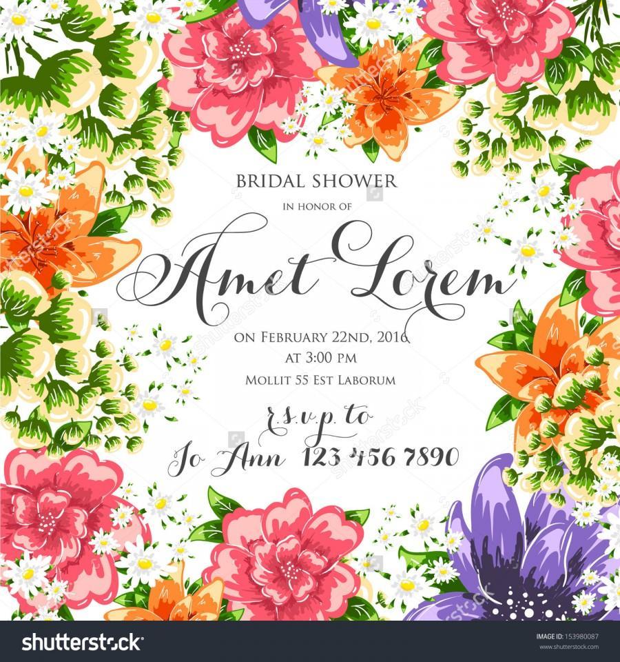 Flower Vector Background Brochure Template Set Of Floral Cards