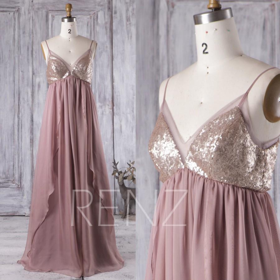 Tan Chiffon Wedding Dresses