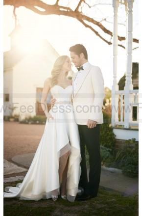 Boda - Martina Liana Sweetheart Corset And High-Low Skirt Wedding Separates Style Carter   Sia