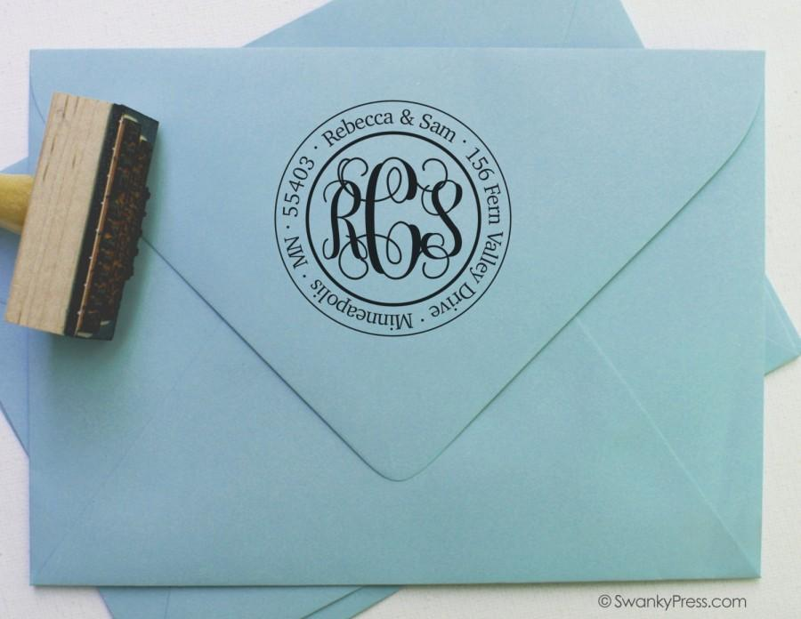 Mariage - Personalized Return Address Stamp
