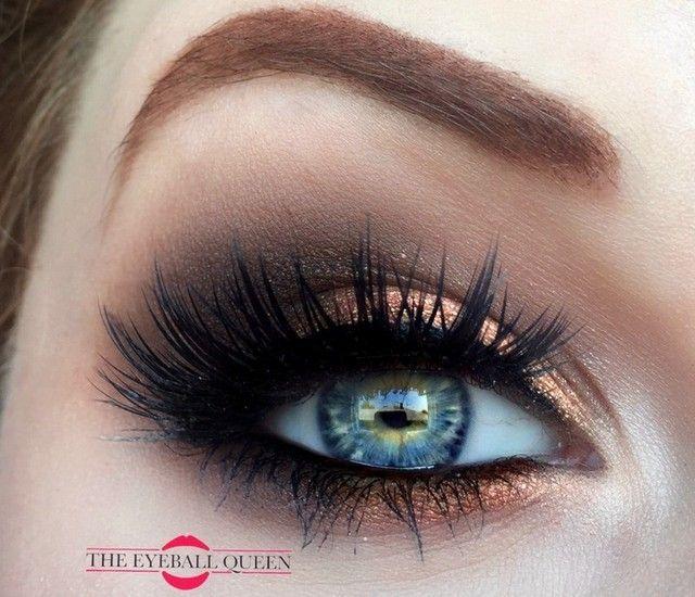 Свадьба - Smokey Eyes Makeup
