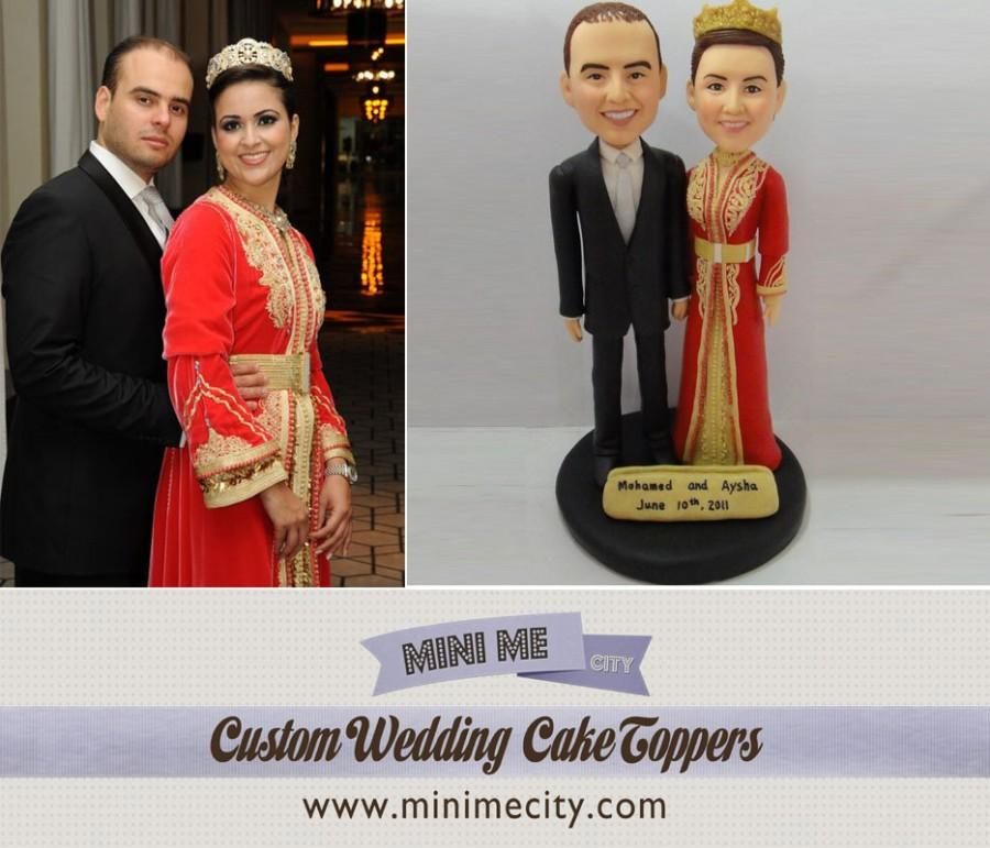 Mariage - Custom Wedding Cake Toppers