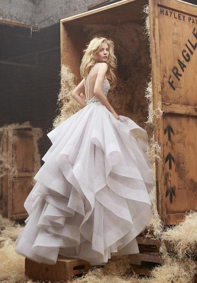 Mariage - Ball Gown Organza And Lace Wedding Dress Wedding Party Dress Bridal Gown From BBDressing
