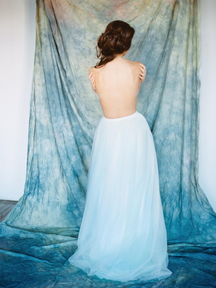 Beth // Bridal Skirt - Bridal Separates - Wedding Skirt - Long Tulle ...