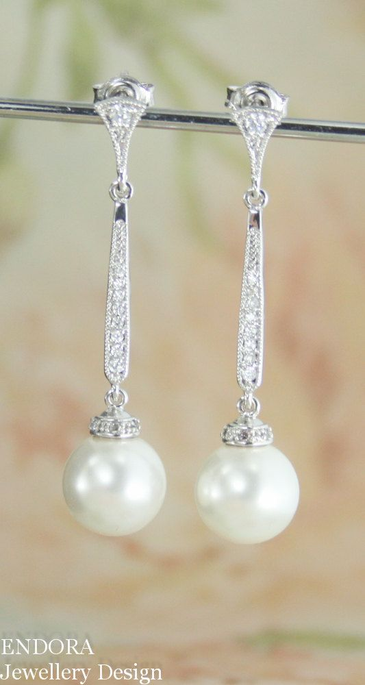 long habibi pearl earrings jewelry product white swarovski
