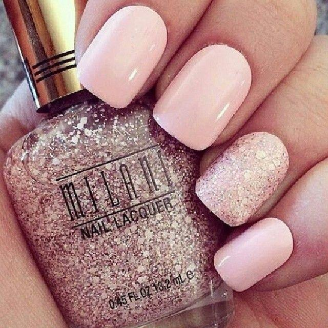زفاف - 50 Cute Pink Nail Art Designs For Beginners: 2015
