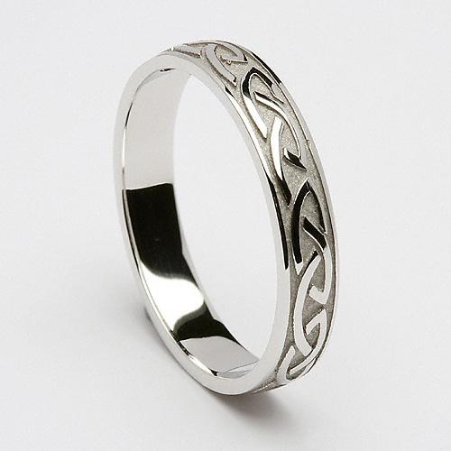 Hochzeit - Cabhan Celtic Wedding Ring (C-359) - Celtic Wedding Rings
