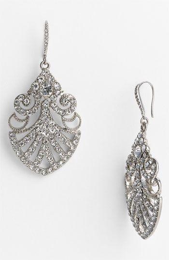 Свадьба - Nina 'Hazel' Filigree Drop Earrings
