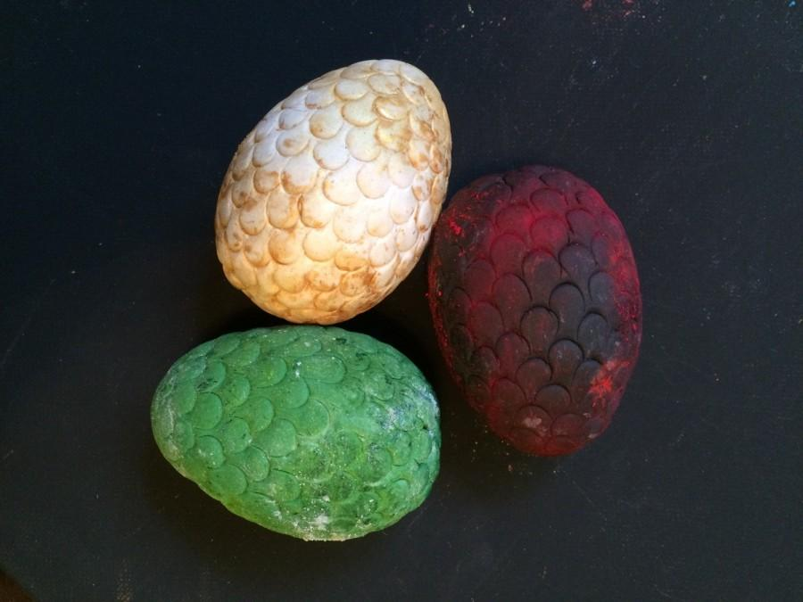 Mariage - Dragon Eggs Cake Topper, Game of Thrones