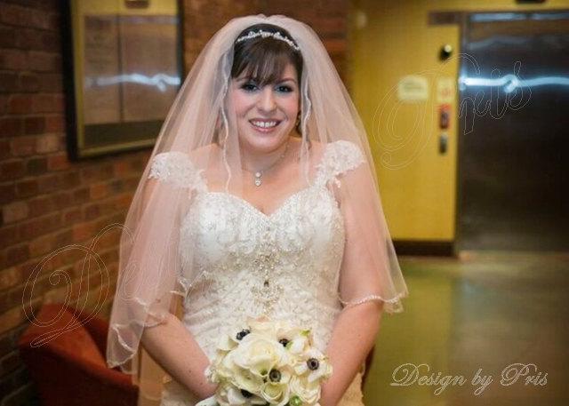 Свадьба - NEW Bridal Rhinestone and White Pearls Ribbon Headpiece Bridal Hairpiece Wedding Accessories Ribbon Rhinestone Headpiece