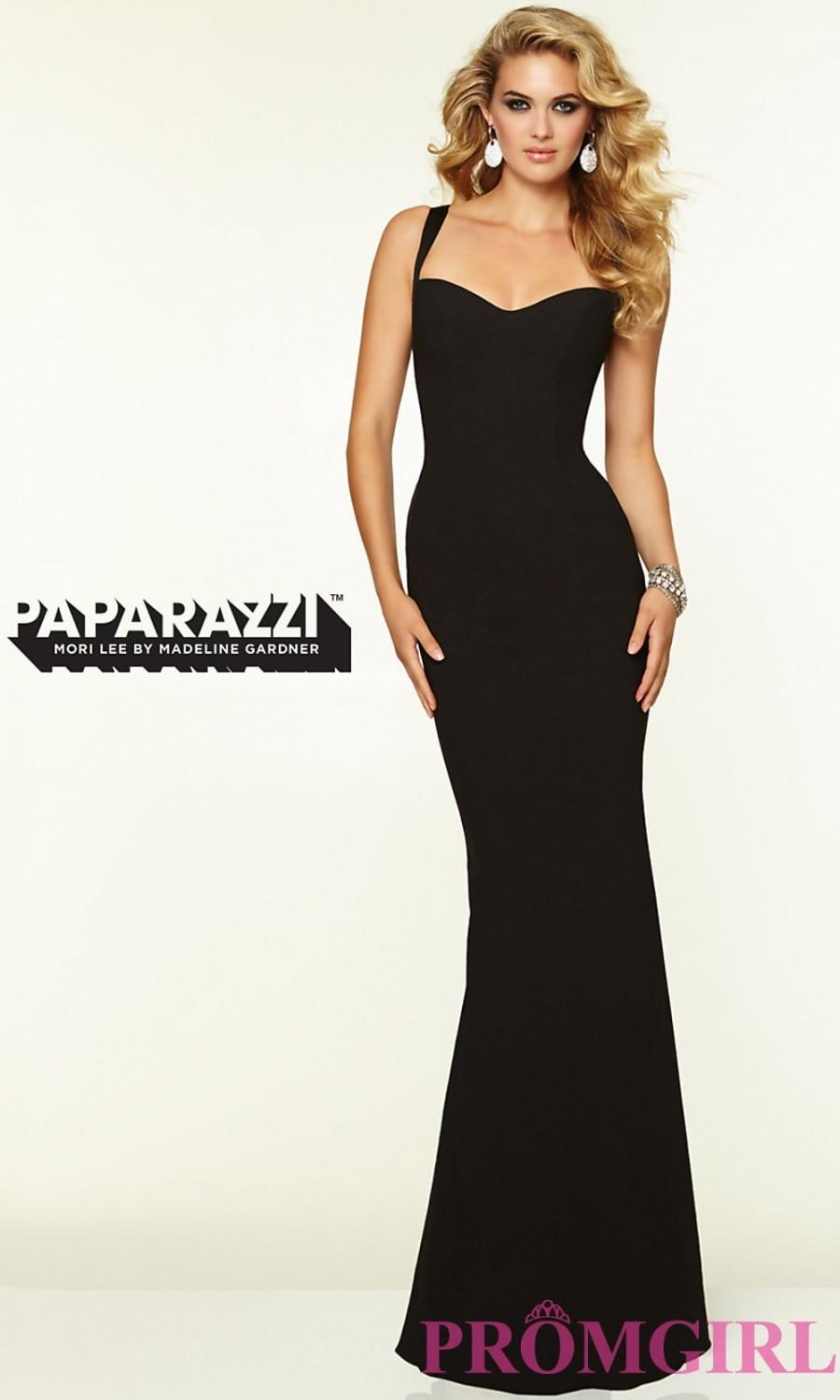 Wedding - Mori Lee 97099 Sleek Backless Prom Gown - Discount Evening Dresses