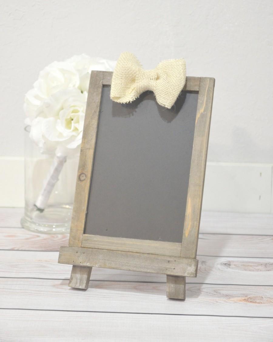 Mariage - Chalkboard with easel, wedding chalkboard, wedding signs
