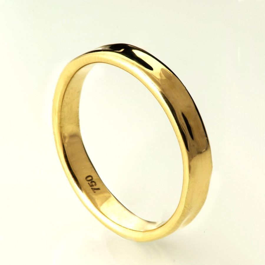 band wedding mm wide products half ring a white copy polished gold x thick of round bands