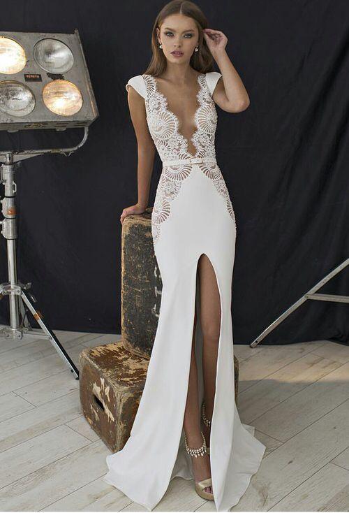 Sexy revealing prom dresses
