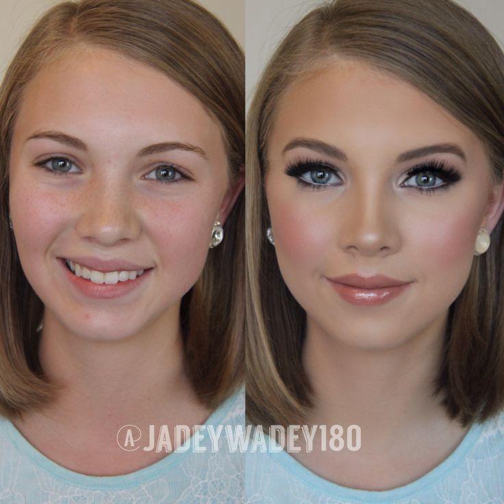 Свадьба - Pageant/Event Makeup Transformation