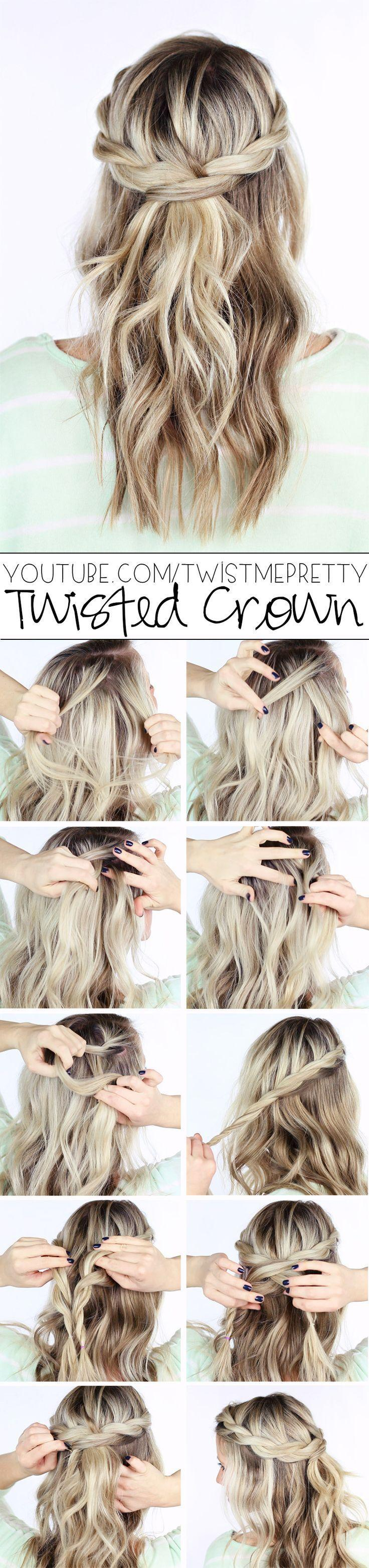 Свадьба - 16 Boho Braid Tutorials That Will Give You Cinderella Hair For Prom