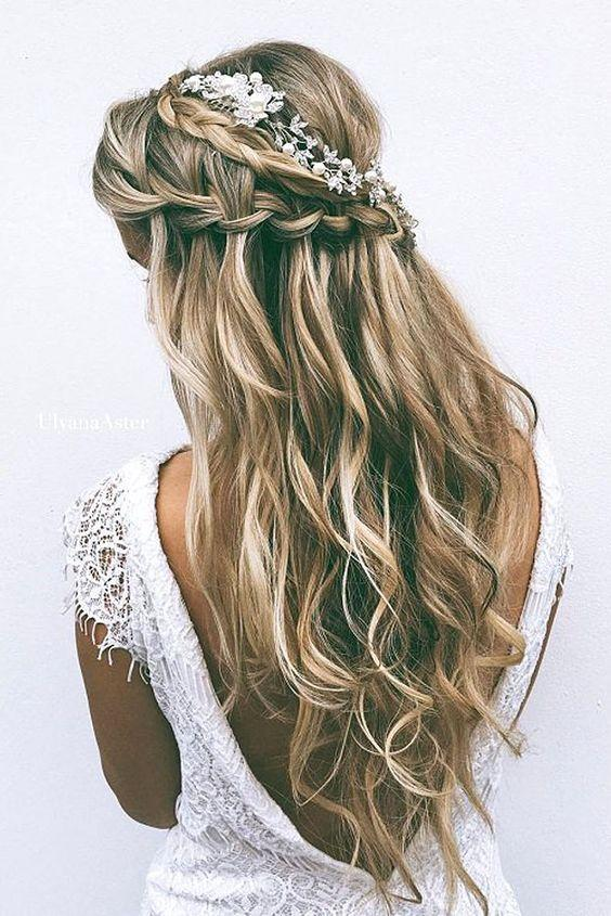 Mariage - 55 Romantic Wedding Hairstyle Ideas Having A Perfect Balance Of Elegance And Trendy