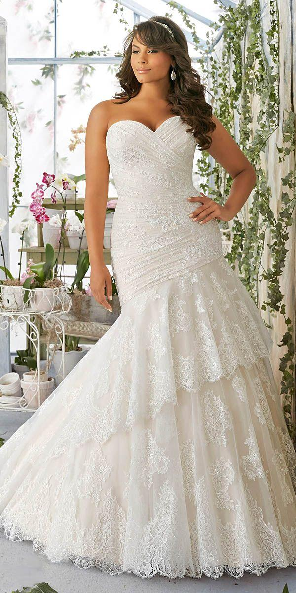 24 Plus Size Wedding Dresses A Jaw Dropping Guide 2580999 Weddbook
