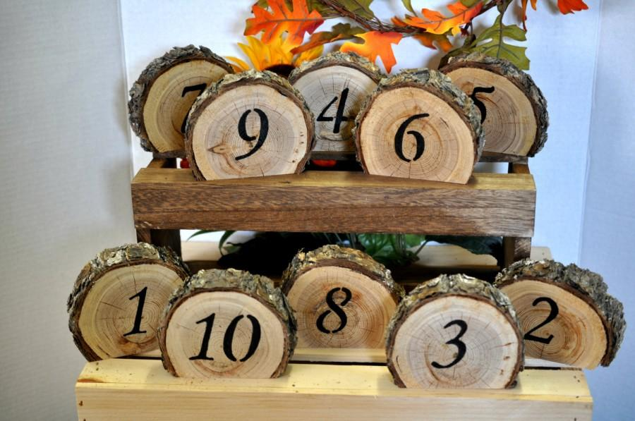 rustic wedding table numbers wedding table number rustic