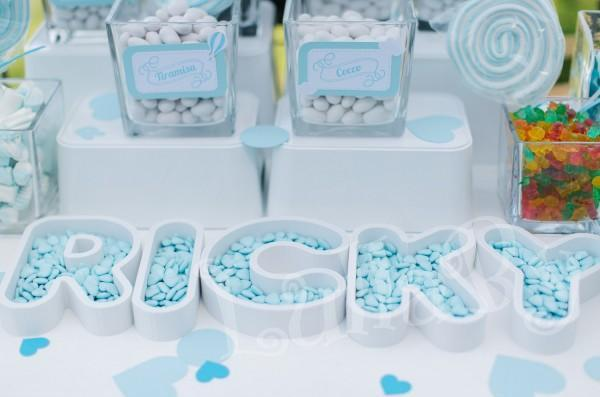 CANDY HOLDERS - 3D printed alphabet letters, numbers or shapes-Treats holders - Wedding sweet table, birthday decoration,baptism,baby shower