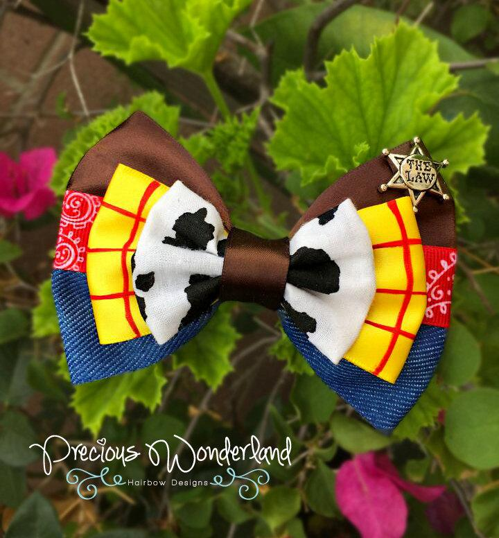 Mariage - The Cowboy Inspired Hair Bow