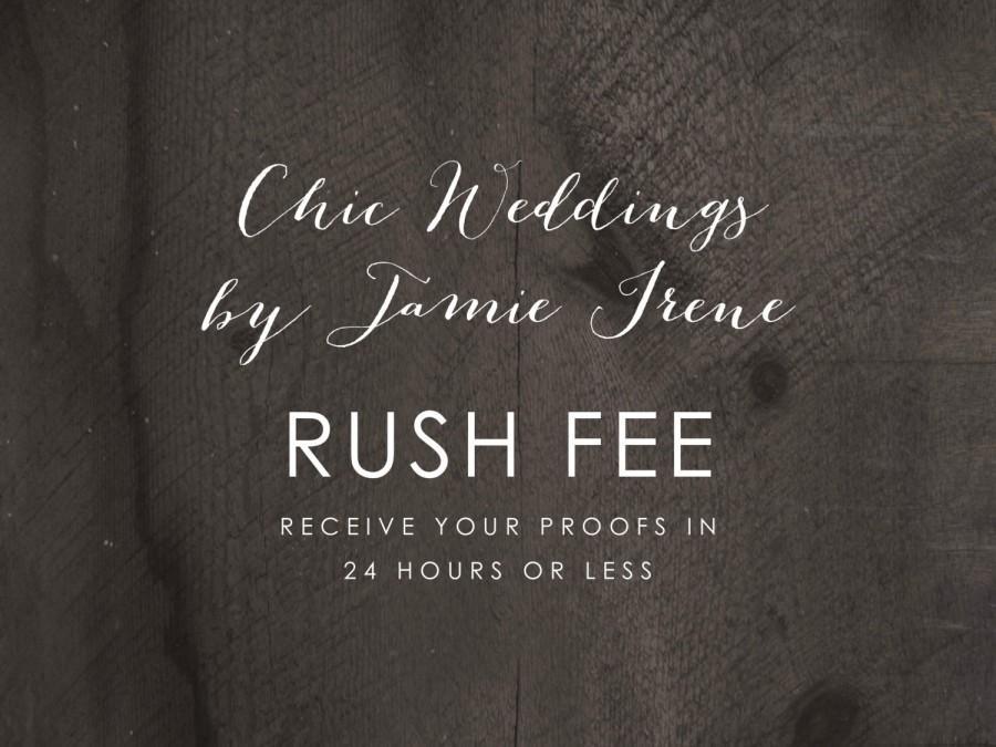 زفاف - RUSH FEE: Receive your proofs in 24 hours or less