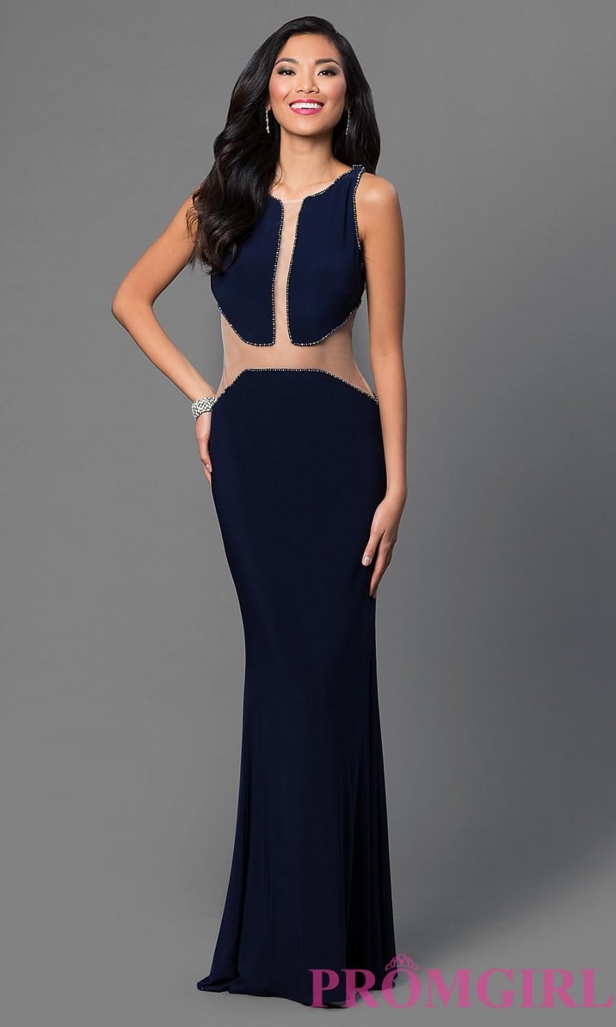 Hochzeit - Dave and Johnny Dress with Illusion Cut Outs - Discount Evening Dresses