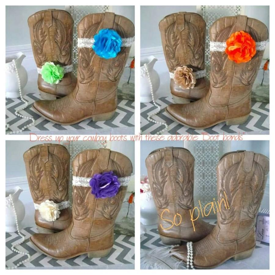 Mariage - Boot Band, Boot Accessories,Cowgirl Boot Band, Boot Bracelet