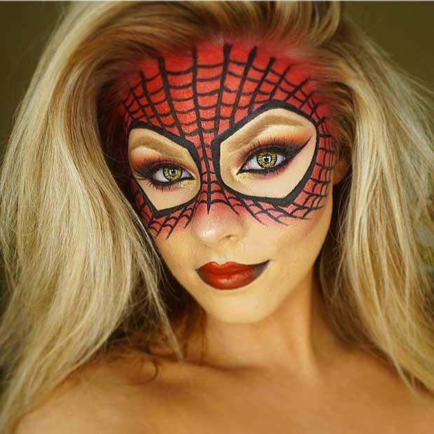 Makeup  21 Easy DIY Halloween Makeup Looks #2581416 - Simple Halloween Makeup