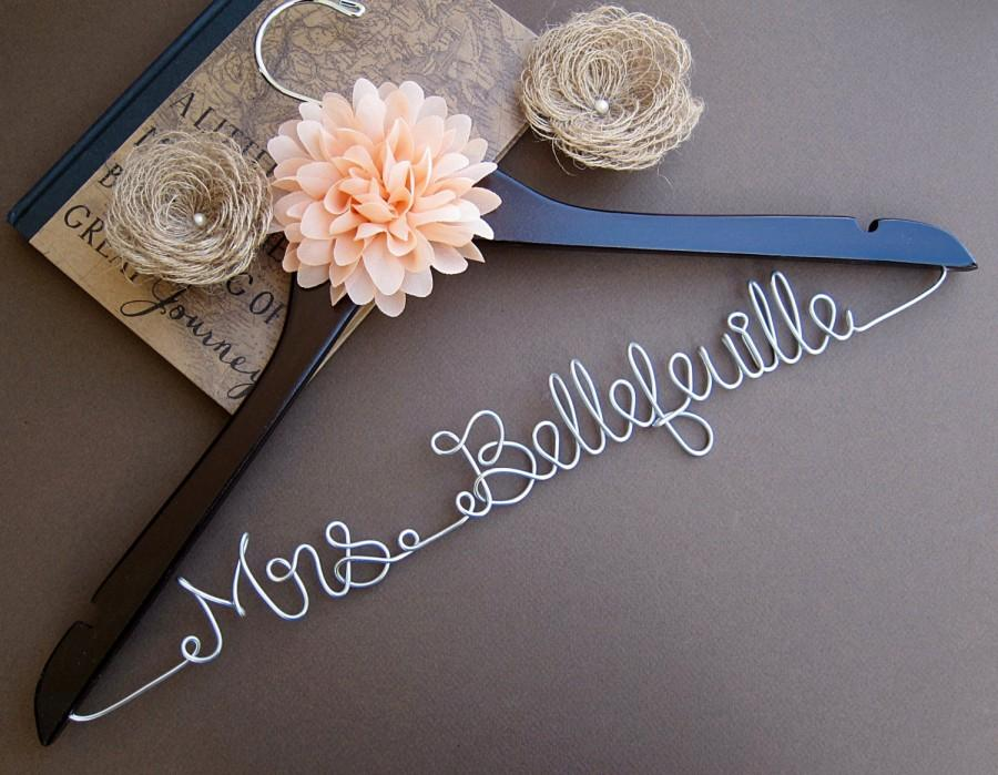 Wedding Hanger Bridesmaid Gift Bridal Shower Party Maid Of Honor Graduation