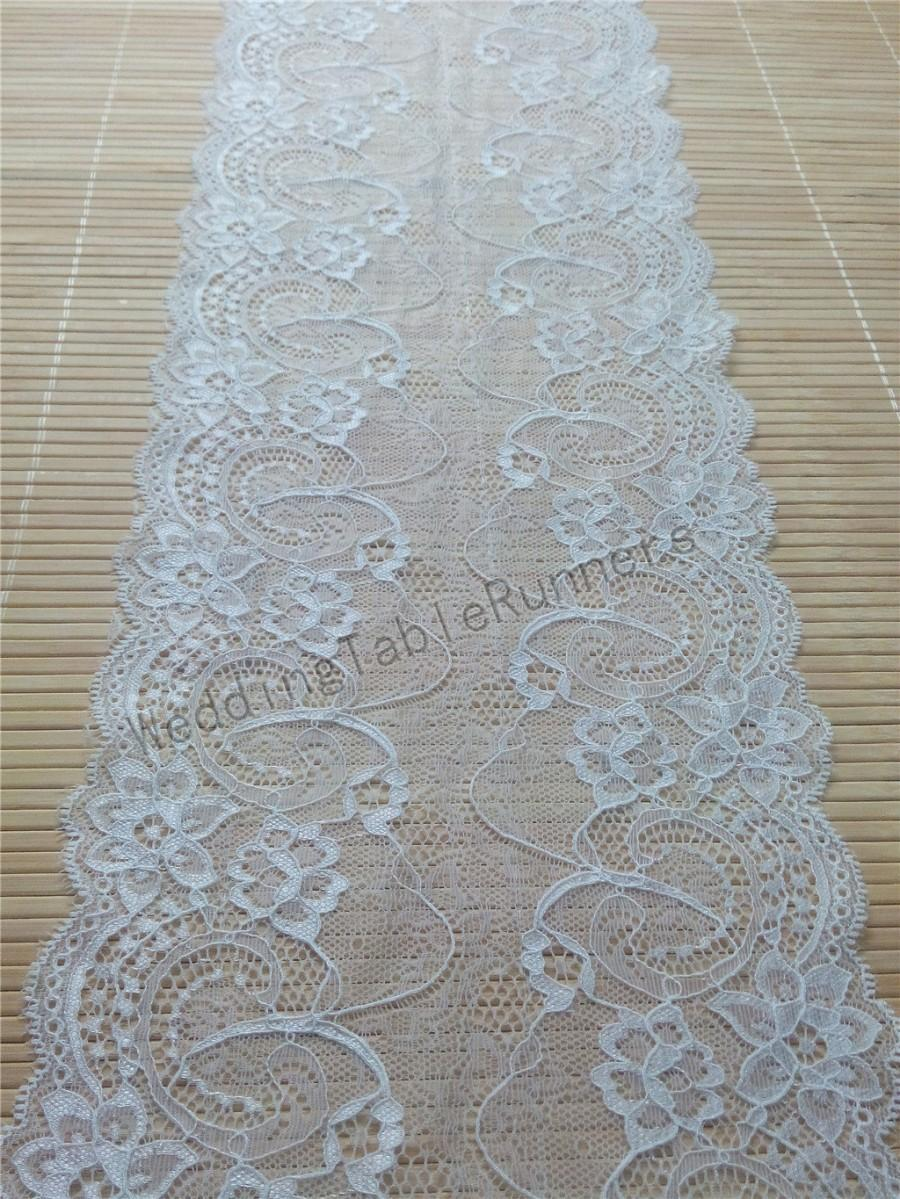 Ivory Wedding Table Runner Lace Runners Weddings Decor 7 R112909