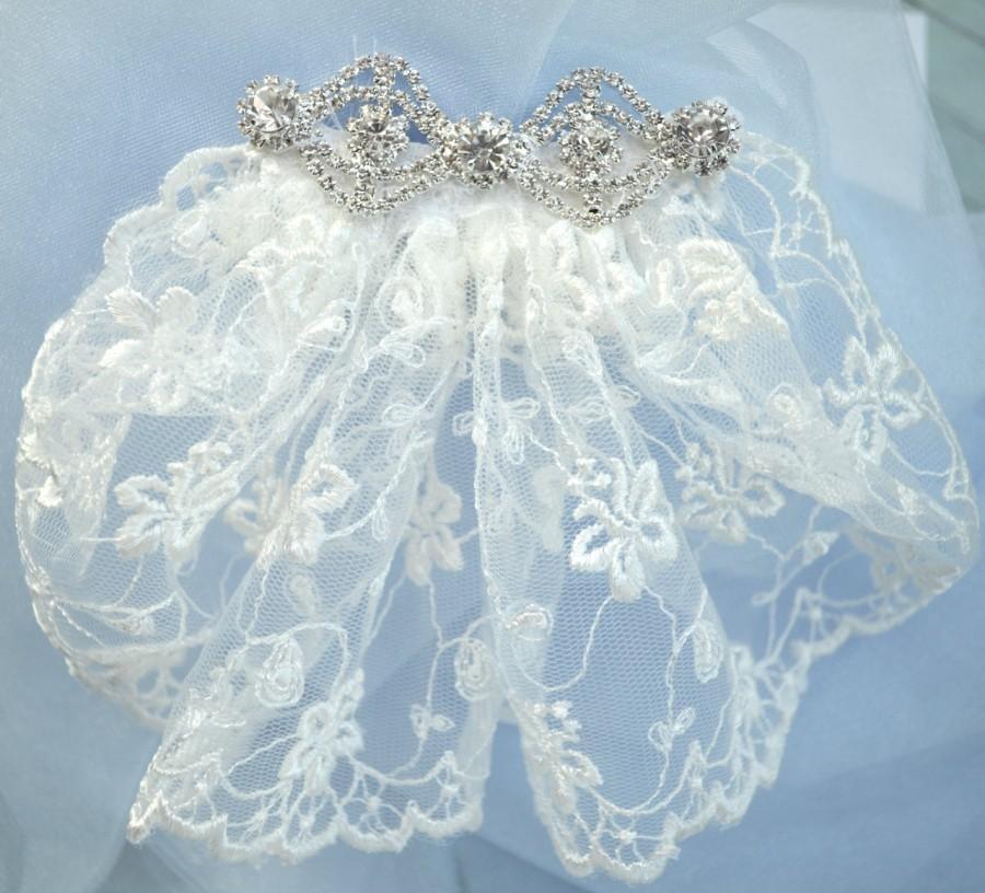 Bridal Veil, Short Wedding Veil, Lace Wedding Veil, Veil With ...