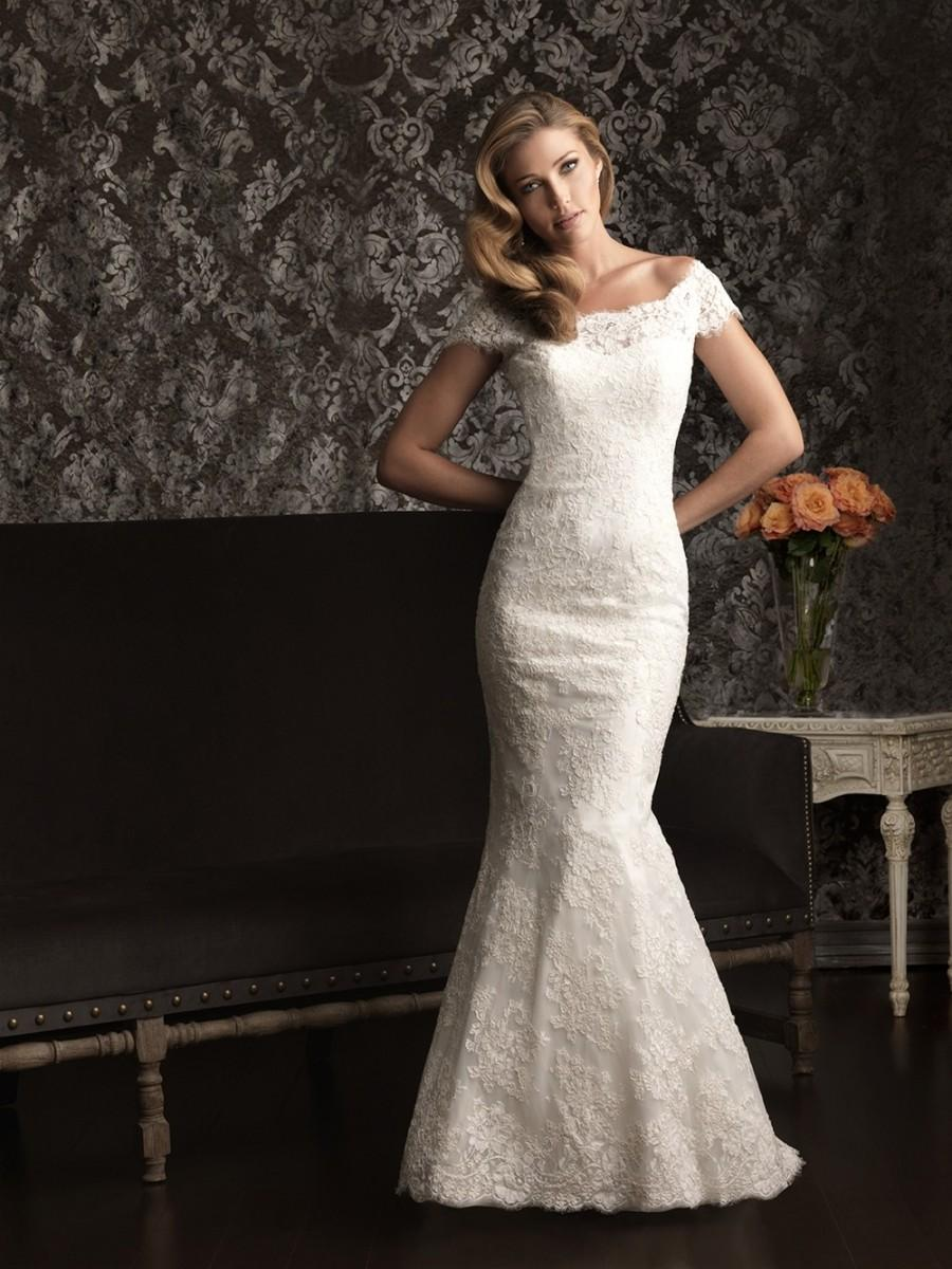 Wedding - Cheap 2014 New Style Allure Wedding Dresses 9000 - Cheap Discount Evening Gowns