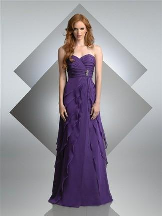 Hochzeit - Bari Jay Bridesmaid Dress Style No. 215 - Brand Wedding Dresses