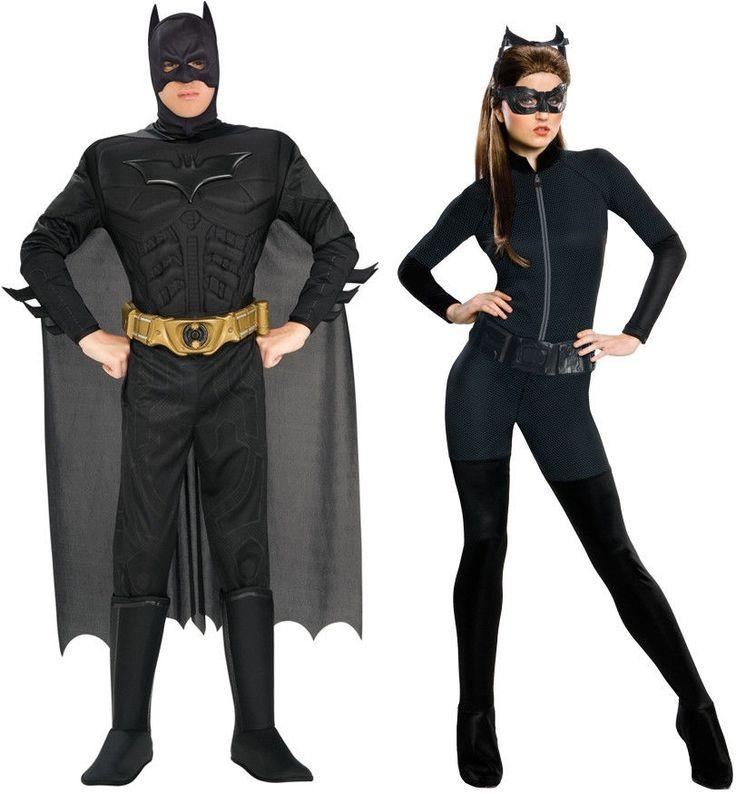 Wedding - Batman Catwoman Adult Costume for Couples