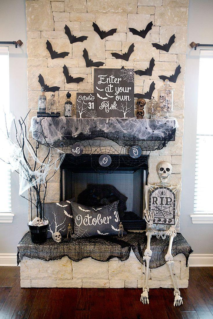 Hochzeit - 24 Devilishly Fun Decorating Projects for Halloween