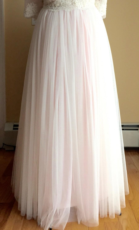 Boda - Bridal Maxi Skirts, Soft Mesh Skirts, Bridal Maxi Skirt, Bridal Skirt ,Tulle Skirt, Bridesmaides Tulle Wedding skirt, Princess Skirts, Skirt